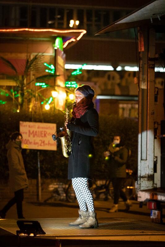 Kein Paulihaus - Wir bleiben laut! Support: Charlotte Ortmann & Nappy G