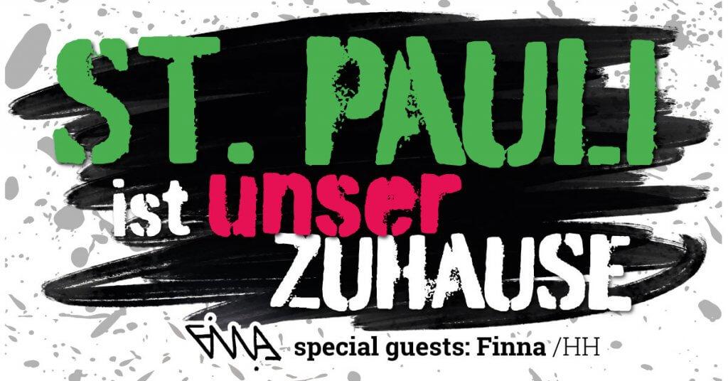Wir bleiben laut mit Finna (Hip Hop aus Hamburg City)