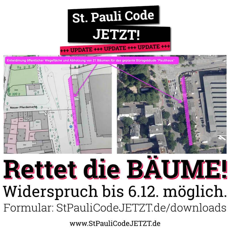 Keine Endwidmung der Wegeflächen in St. Pauli