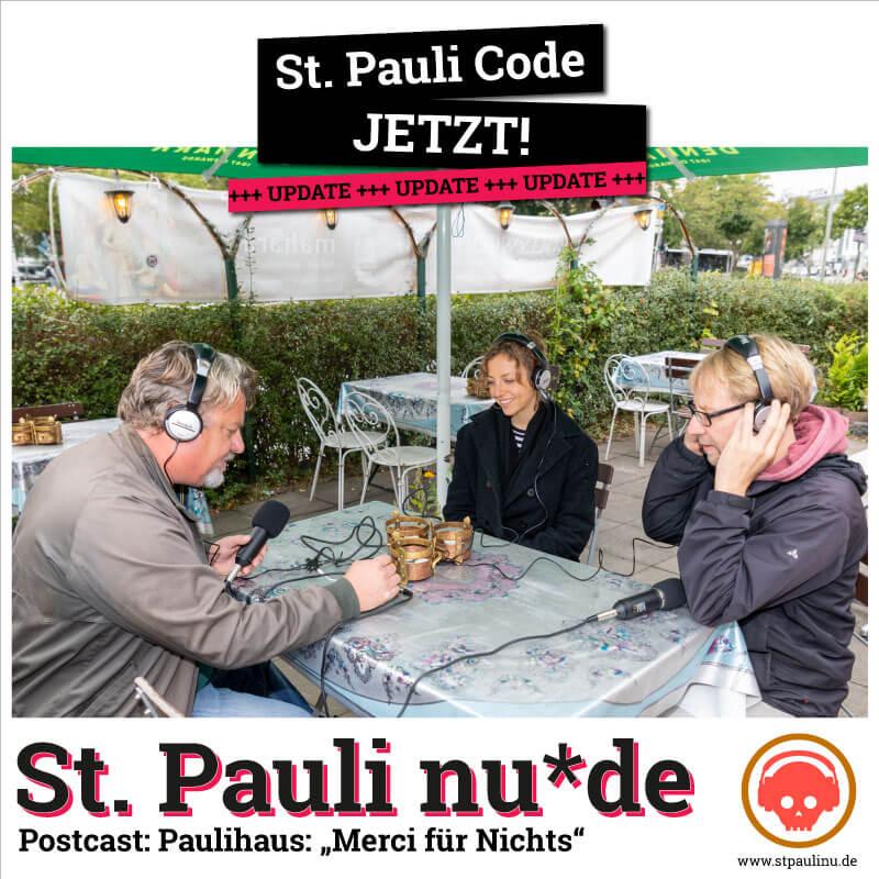 "Podcast: St. Pauli nu*de Paulihaus: ""Merci für Nichts"""