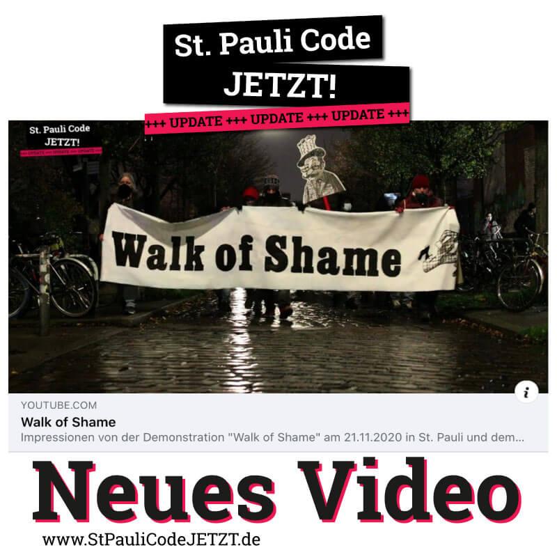 St. Pauli Code JETZT! Walk of Shame Redebeitrag